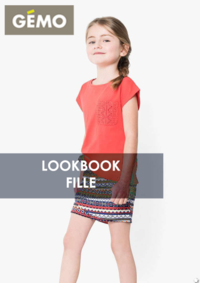 Catalogues et collections Gemo FRESNES : Lookbook fille