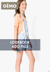 Catalogues et collections Gemo BONDY : Lookbook ado fille