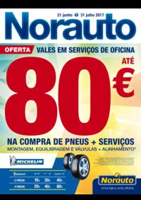 Folhetos Norauto Alfragide - Carnaxide : Vales em serviços de oficina até 80€
