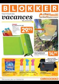 Prospectus BLOKKER Zedelgem : Tout pour des vacances relaxantes