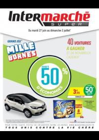 Prospectus Intermarché Super Bondy : Grand jeu mille bornes III