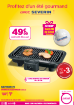 Promos et remises  : 49,99€ Barbecue Severin = Ballon foot OFFERT