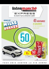 Prospectus Intermarché Express PARIS Charenton : Grand jeu mille bornes III