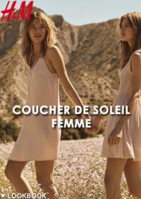 Catalogues et collections H&M La Défense : Lookbook femme Coucher de soleil