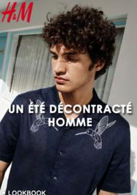Catalogues et collections H&M Amiens : Lookbook homme Un été décontracté