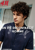 Catalogues et collections H&M : Lookbook homme Un été décontracté