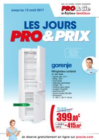 Prospectus Pro&Cie Gagny : Les jours Pro & Prix