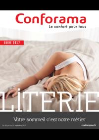 Guides et conseils Conforama COLOMBES : Le guide 2017 Literie