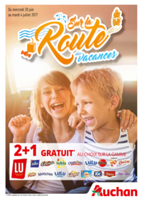 Prospectus Auchan Val d'Europe Marne-la-Vallée : Sur la route des vacances