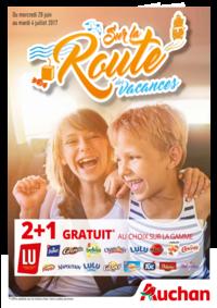 Prospectus Auchan Plaisir : Sur la route des vacances