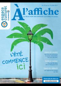 Prospectus Espace culturel E.Leclerc LE BLANC MESNIL : L'été commence ici