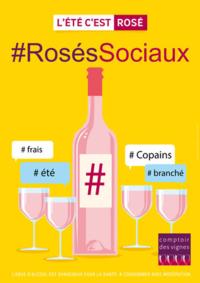 Prospectus Comptoir des vignes PARIS 17IEME : #RosésSociaux