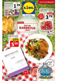 Prospectus Lidl PARIS 247 rue de Crimée : Sélection fan de barbecue