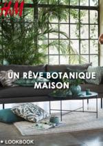 Catalogues et collections H&M : Lookbook maison Un rêve botanique