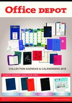 Promos et remises  : Collection agendas & calendriers 2018