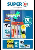 Promos et remises Super U : Até 100€ na compra de pneus MICHELIN