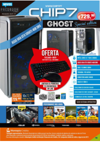 Folhetos CHIP7 Vendas Novas : Special edition GHOST