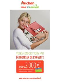 Prospectus Les Halles d'Auchan Les Mureaux : Votre confort vous fait économiser de l'argent !