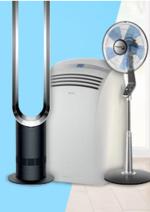 Promos et remises  : Ventilateurs, rafraîchisseurs, climatiseurs dès 69,90€