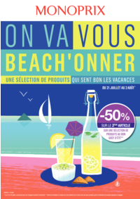 Prospectus Monoprix SAINT GERMAIN EN LAYE : On va vous beach'onner