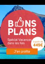 Promos et remises Selectour Afat : Bons plans : vacances dans les îles