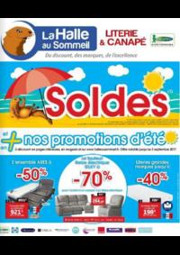 Prospectus La Halle au Canapé BONNEUIL SUR MARNE : Soldes