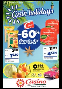 Prospectus Supermarchés Casino PARIS 352 RUE LECOURBE : Casin' holidays