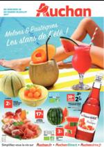 Prospectus Auchan : Melons et pastèques les stars de l'été !
