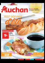 Prospectus Auchan : Petit déjeuner d'été