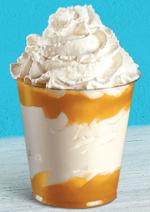 Catalogues et collections Mc Donald's : Craquez pour un dessert glacé