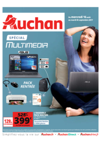 Prospectus Auchan MAUREPAS : Spécial multimedia