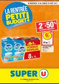 Prospectus Super U CHATOU : La rentrée petit budget !