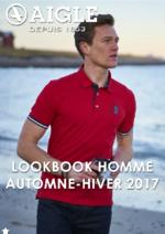Catalogues et collections Aigle : Lookbook homme automne-hiver 2017