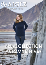 Catalogues et collections Aigle : Pré-collection automne-hiver