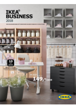 Catalogues et collections  : Ikea Business 2018