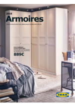 Catalogues et collections IKEA : Catalogue Armoires 2018
