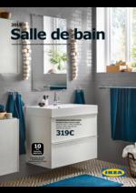 Catalogues et collections IKEA : Catalogue Salles de bains 2018