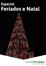 Folhetos Viagens El Corte Inglés : Especial feriados e Natal