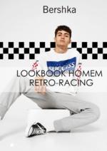 Catálogos e Coleções Bershka : Lookbook homem Retro-racing
