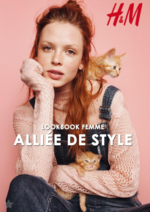 Catalogues et collections H&M : Lookbook femme Alliée de style