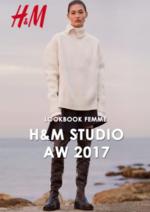 Promos et remises  : Lookbook femme H&M Studio automne hiver 2017