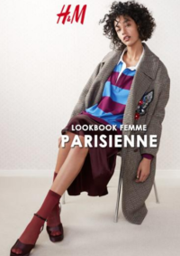 Catalogues et collections H&M Anderlecht : Lookbook femme Parisienne