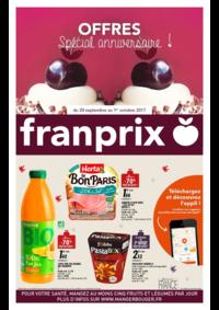 Prospectus Franprix ASNIÈRES : Offres spécial anniversaire !