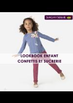 Promos et remises  : Lookbook enfant Confettis et sucrerie