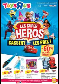 Prospectus Toys R Us AULNAY SOUS BOIS : Les super héros cassent les prix !