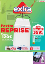 Catalogues et collections EXTRA : L'Extra reprise