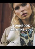 Catalogues et collections Promod : Lookbook automne 2017