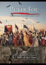 Catalogues et collections Puy du Fou : Feuilletez la nouvelle brochure