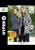 Prospectus Hyper U : La mode qui pense à tous