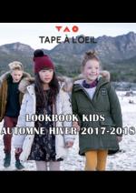 Promos et remises  : Lookbook kids automne hiver 2017-2018